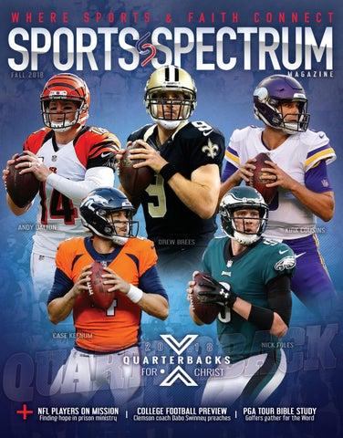 6cdadb774cc Sports Spectrum - Fall 2018 by Sports Spectrum - issuu