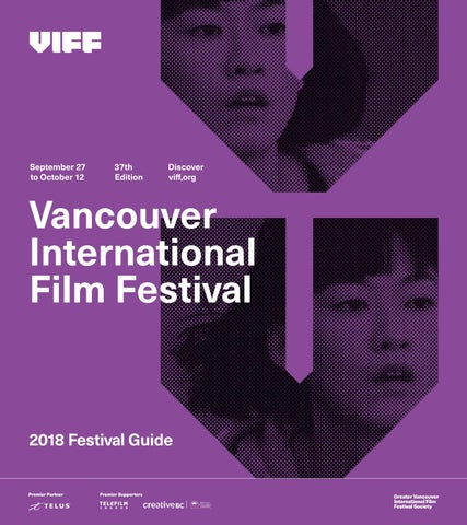 The Vancouver International Film Festival Program Guide 2018 by