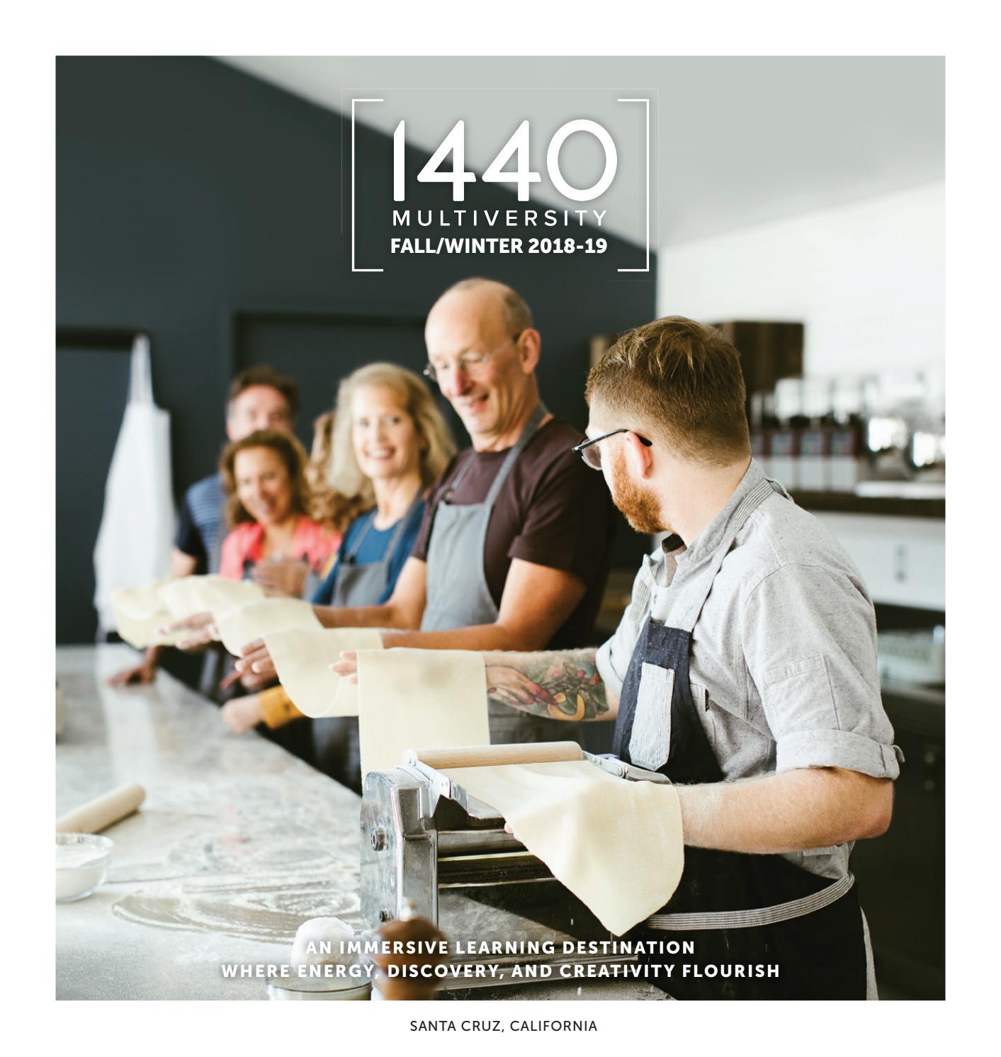 1440 Multiversity Fall/Winter 2018 – 2019 Catalog by 1440