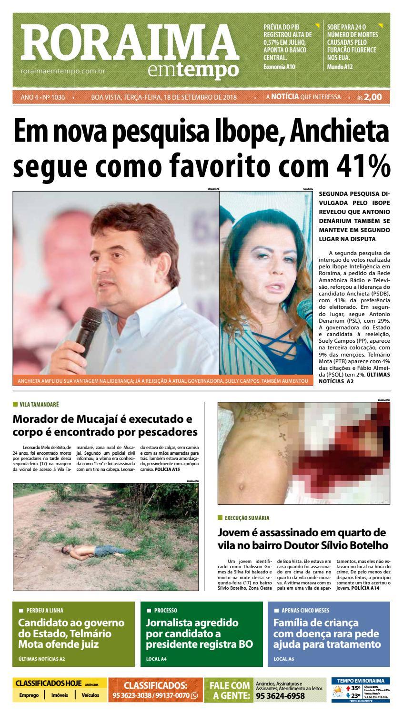 Jornal Roraima em tempo – edição 1036 by RoraimaEmTempo - issuu 035ba66fee36