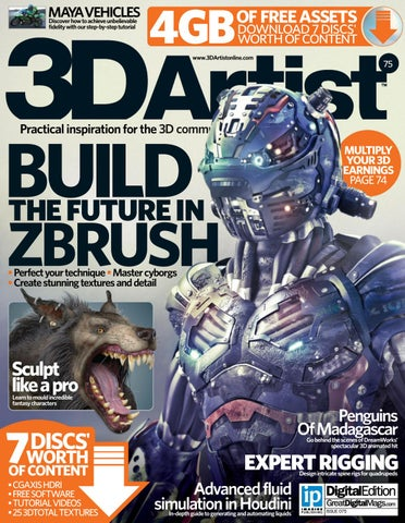 3D Artist - Issue 75, 2015 by Pardo Lee - issuu