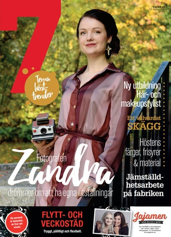 Tidningen 7 v38 2018 by 7an Mediapartner - issuu dec0625107a41