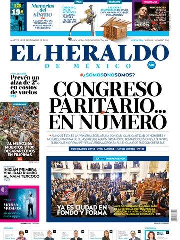 009b01a9331 18 de septiembre 2018 by El Heraldo de México - issuu