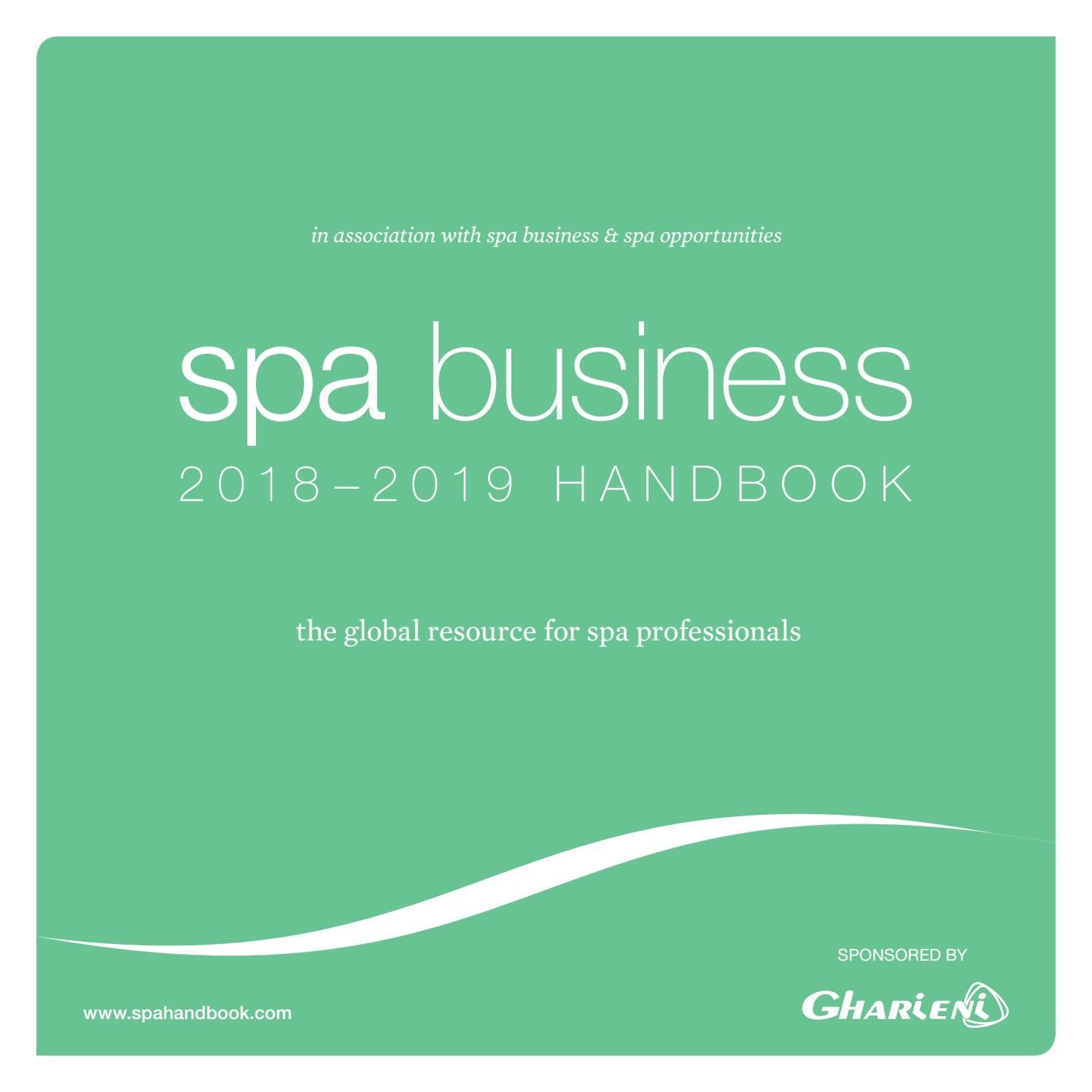 Spa Business Handbook 2018 2019 By Leisure Media Issuu Circuit Binary Up Counter 4026 Digital Diagram