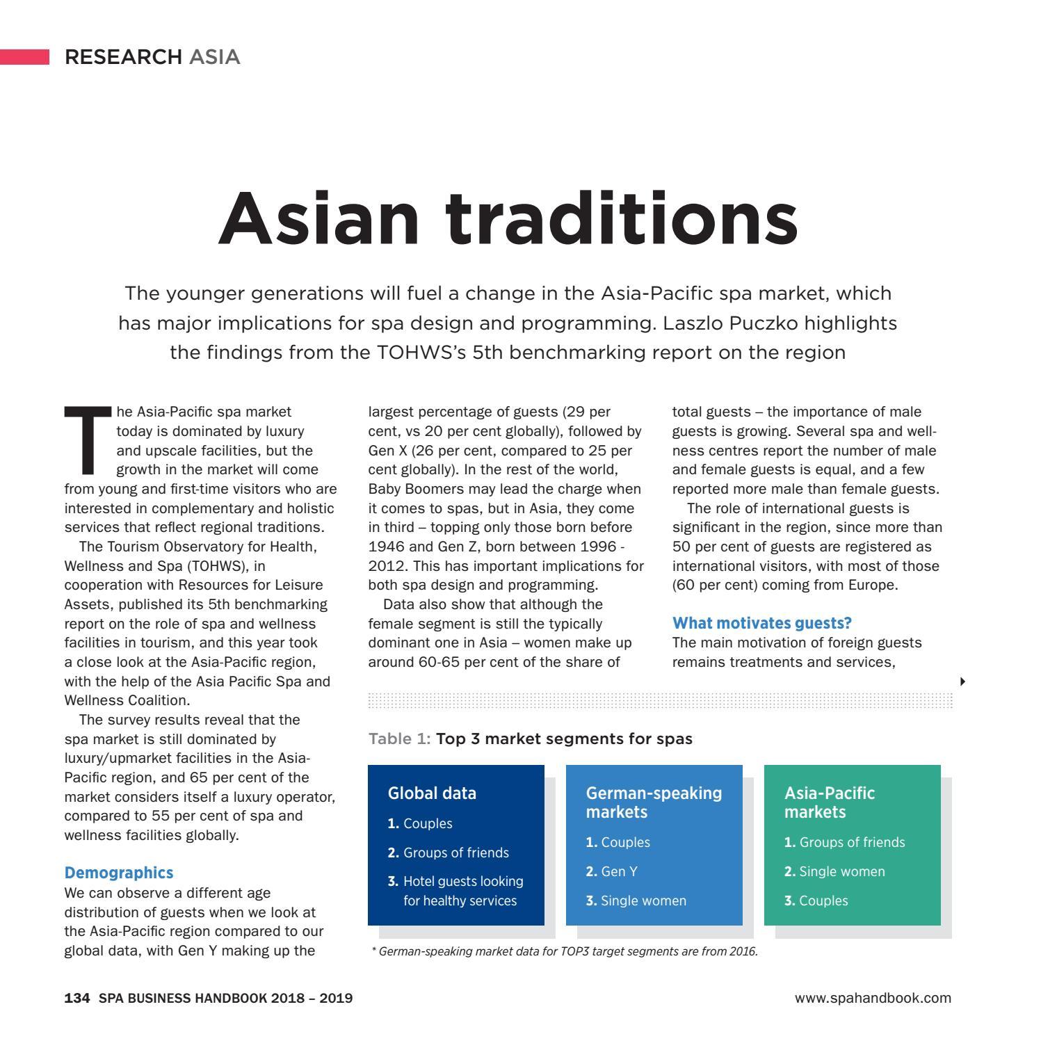 Spa Business Handbook 2018-2019 by Leisure Media - issuu
