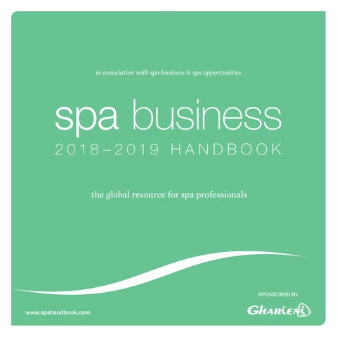 Spa Business Handbook 2018-2019 by Leisure Media - issuu