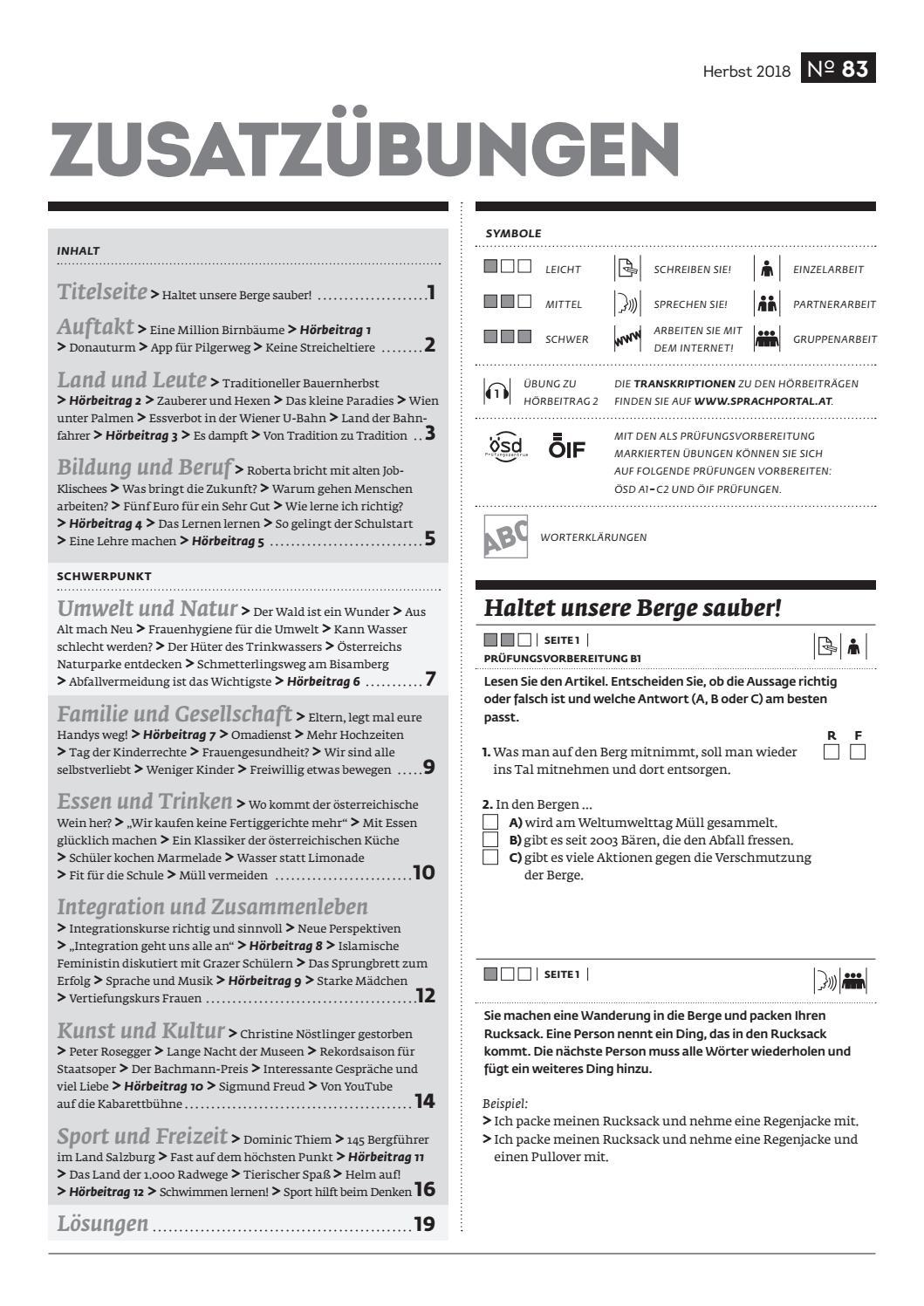 Zusatzubungen 83 By Osterreichischer Integrationsfonds Issuu