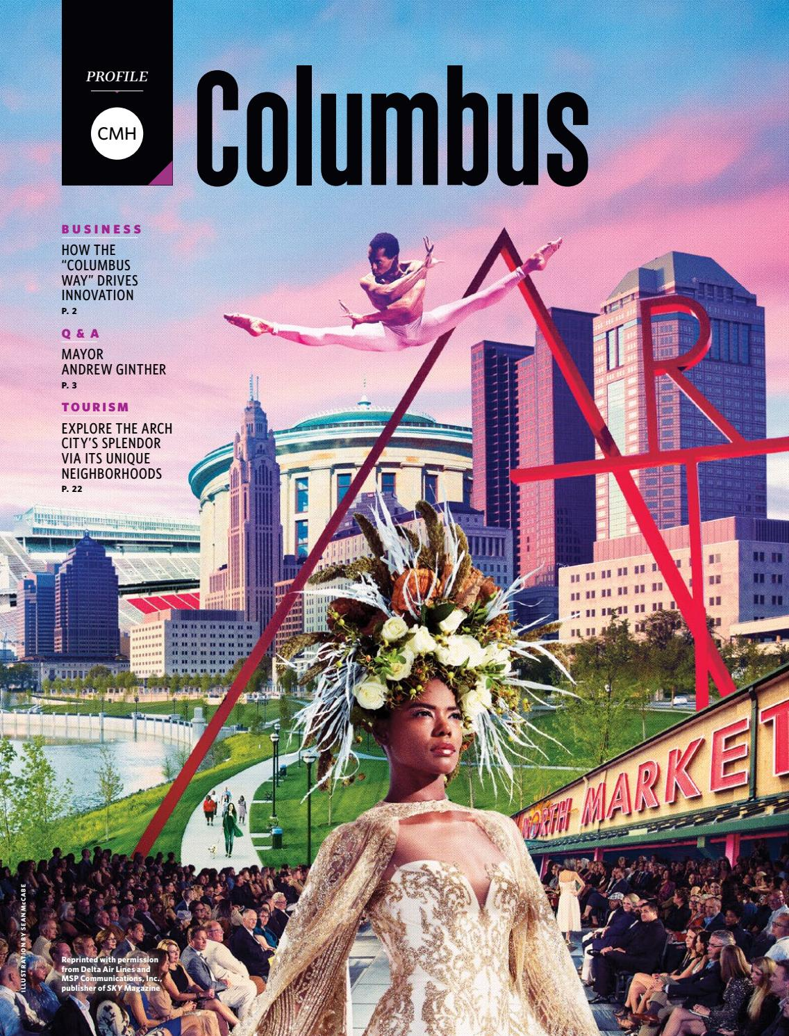 Delta Sky Publication Smart City Big Dreams By The Columbus