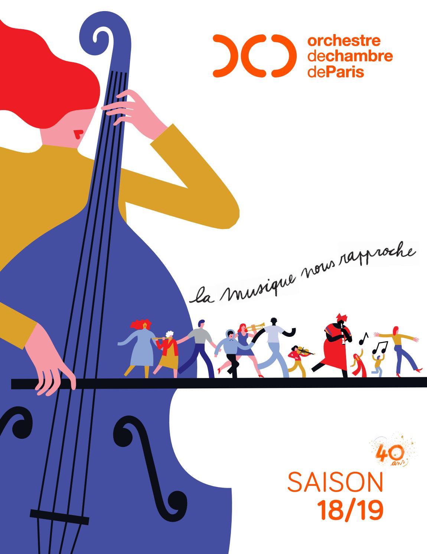 Brochure 18 19 orchestre de chambre de paris by - Orchestre de chambre de paris ...