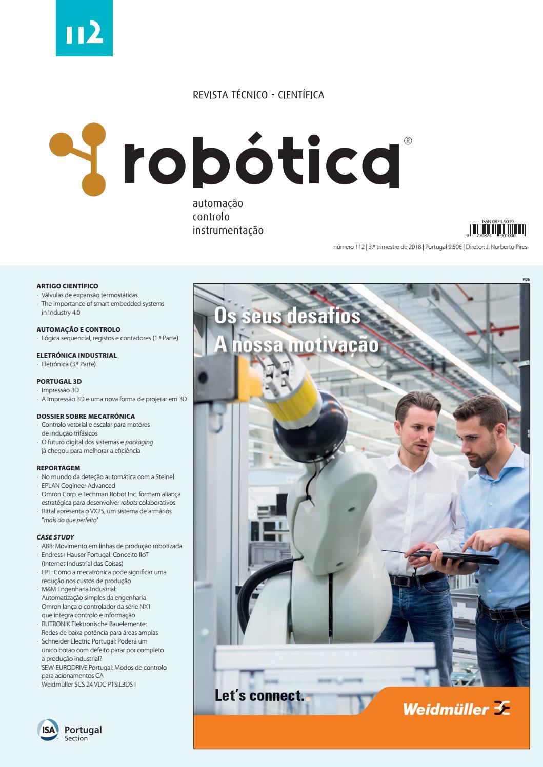 aa7f33801 Revista Robótica 112 by Revista Robotica - issuu