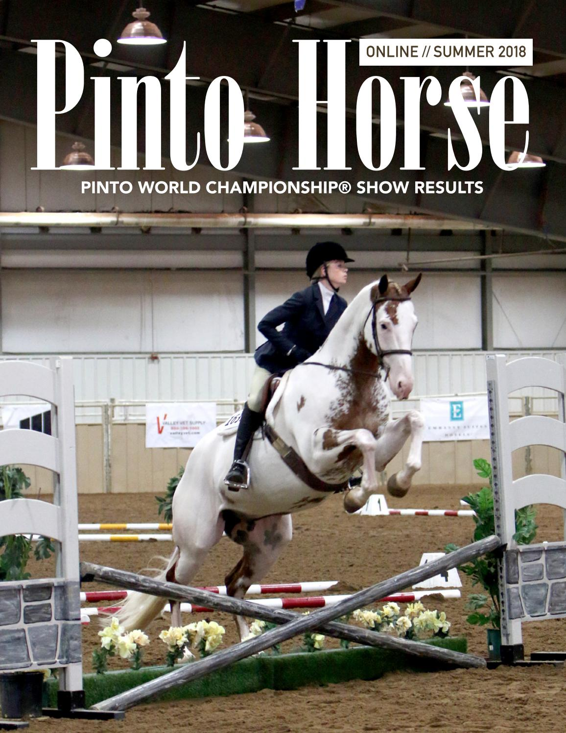 2018 PtHA® Summer Magazine by Pinto Horse Association of