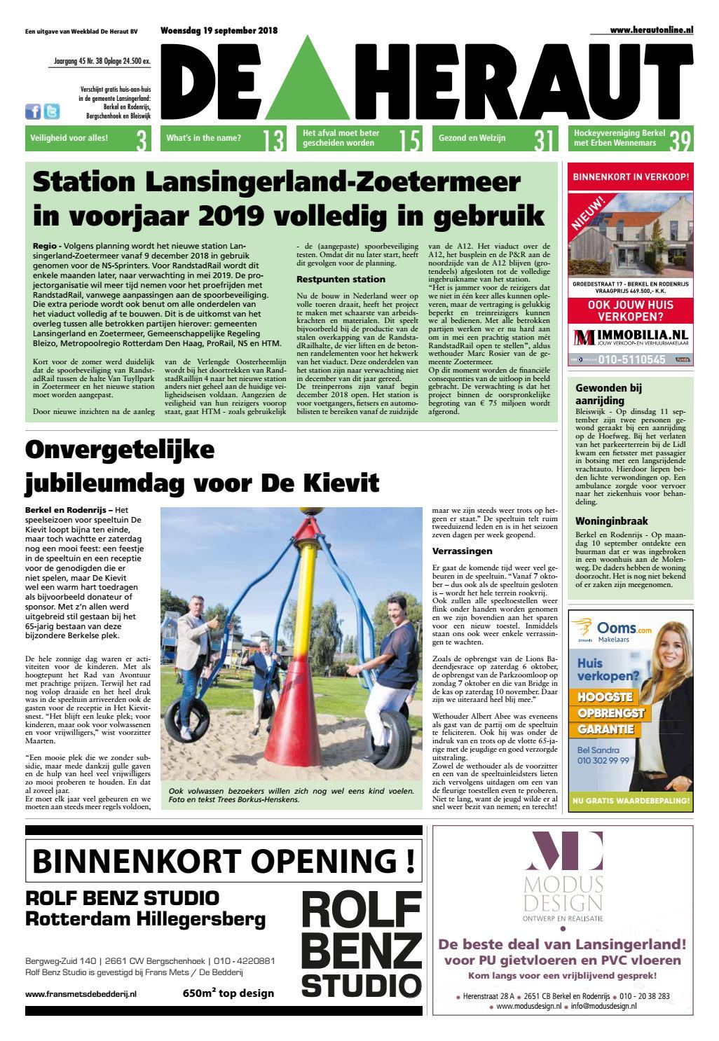 b3379ee8dec De Heraut week 38 2018 by Nieuwsblad De Heraut - issuu