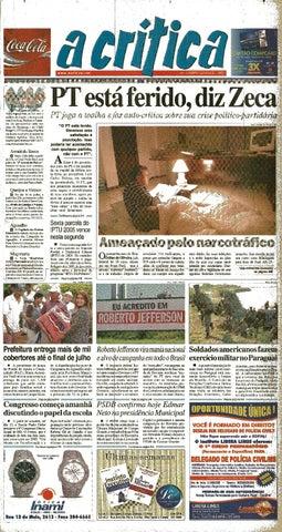 cd43be816cd5e7 Jornal A Critica - Edição 1238- 10/07/2005 by JORNAL A CRITICA - issuu