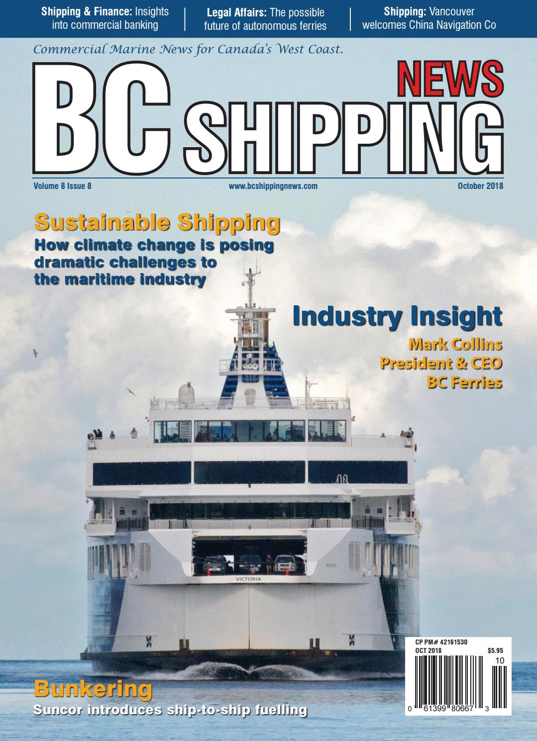 BC Shipping News - October 2018 by BC Shipping News - issuu