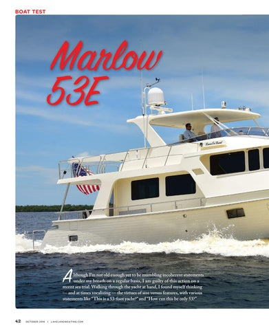 Page 44 of Boat Test: Marlow 53E