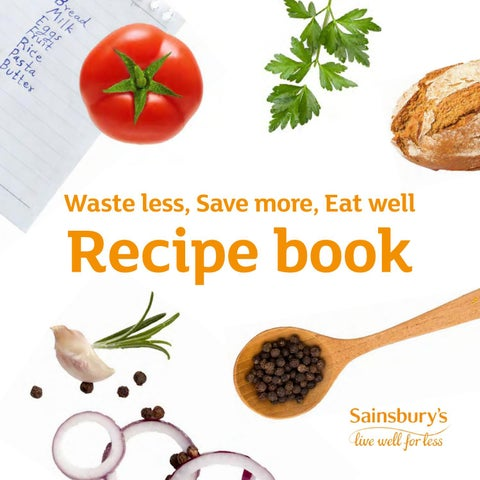 Waste Less Save More Eat Well Recipe Book I Hubbub By