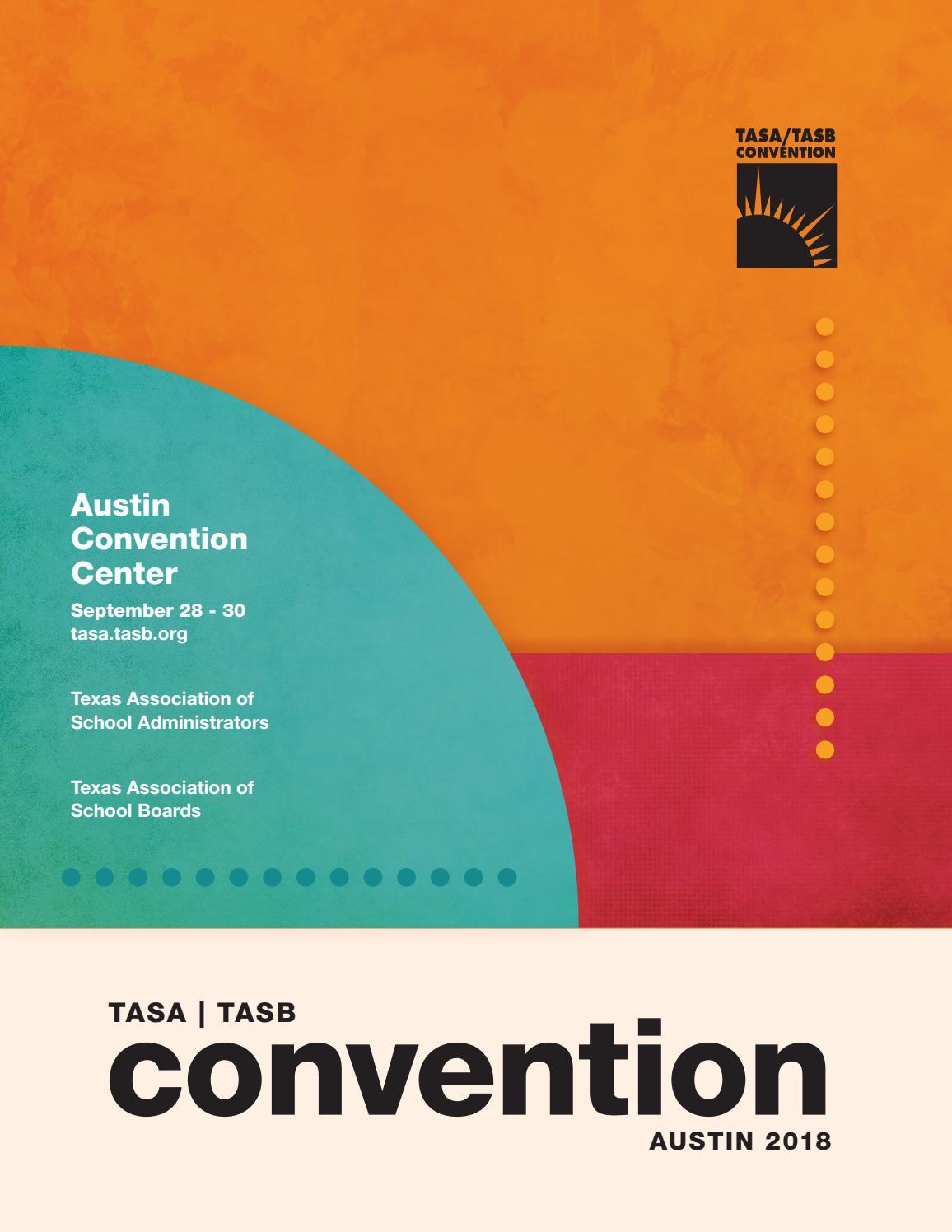 TASA/TASB Convention Program by Texas Association of School
