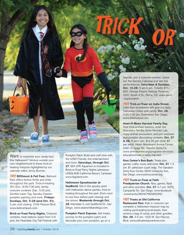 Page 26 of Trick-or-treating hotspots around San Diego