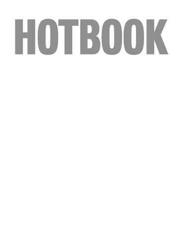 new product 2be49 a0b44 HOTBOOK 008 by HOTBOOK - issuu