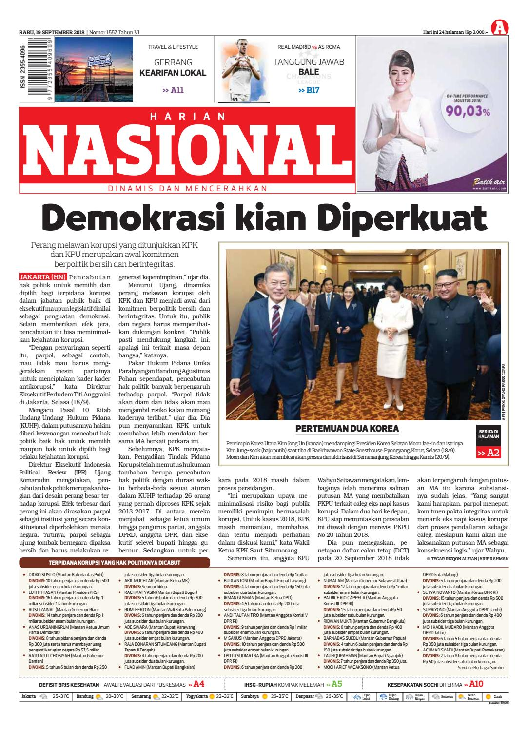 Harian Nasional By Issuu Sofie Sambal Ikan Roa Bm
