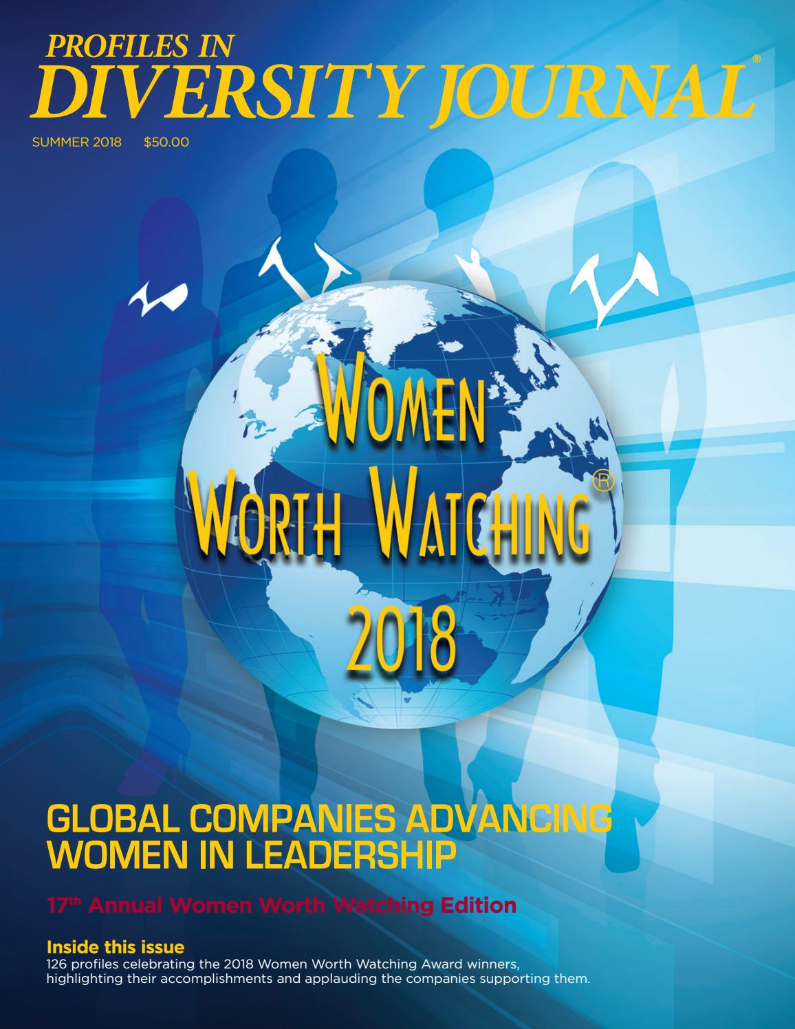 Diversity Journal - Summer 2018 - Women Worth Watching by