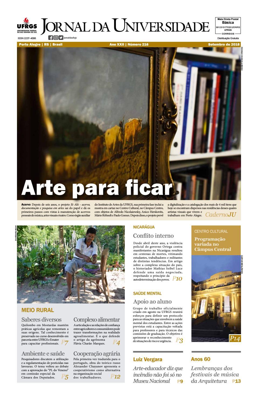 Jornal da Universidade by Universidade Federal do Rio Grande do Sul - issuu bbd5977fb21ed