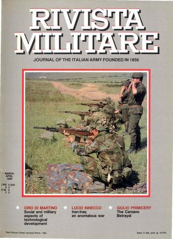 RIVISTA MILITARE 2002 N.3 by Biblioteca Militare - issuu 5534fe51541b