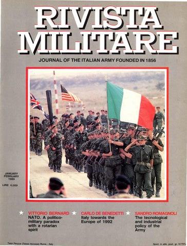 6a025971efb JOURNAL OF ITALIAN ARMY 1989 N.1