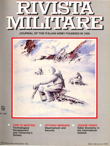 JOURNAL OF ITALIAN ARMY 1989 N.3