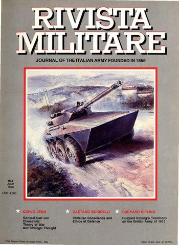 bc85d858cd4b JOURNAL OF ITALIAN ARMY 1990 N.3