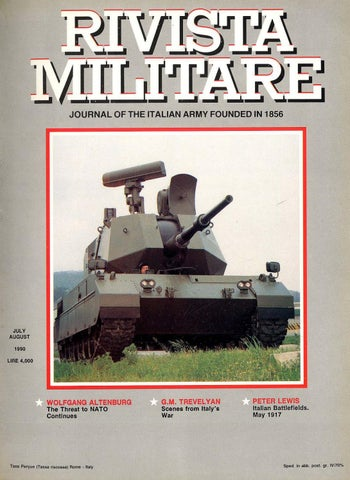 1959a773d3289 JOURNAL OF ITALIAN ARMY 1985 N.6