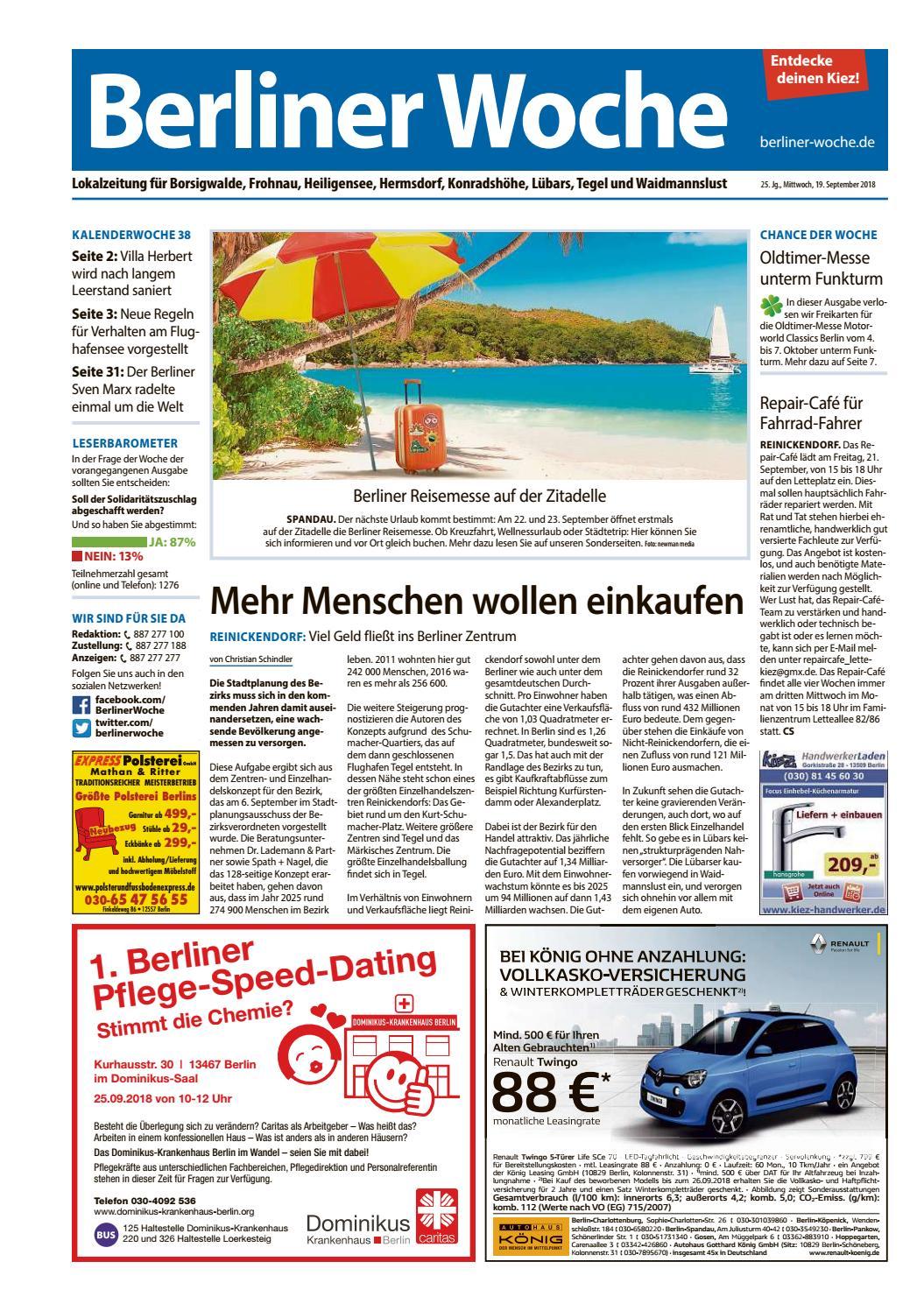 Volksblatt spandau online dating