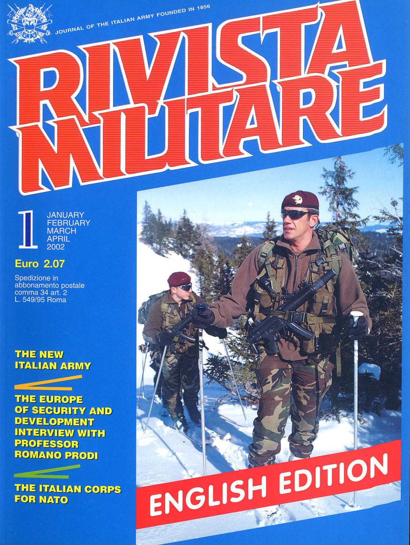 4198096fac JOURNAL OF ITALIAN ARMY 2002 N.1