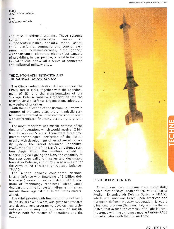 JOURNAL OF ITALIAN ARMY 2006 N 1