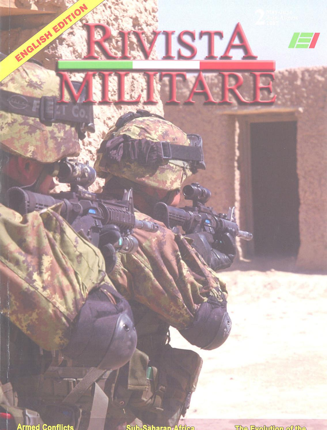 Journal Of Italian Army 2007 N2 Rivista Militare By Biblioteca Tendencies Kaos Im Flying Helmet Abu Tua S Issuu
