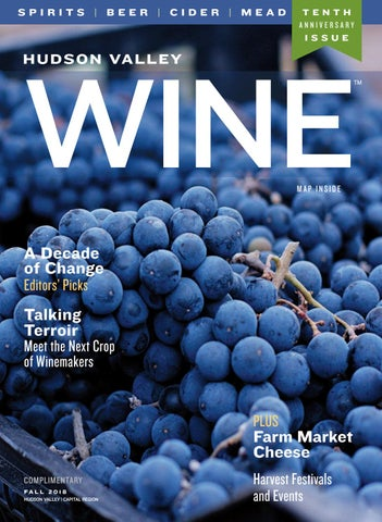 Hudson Valley Wine Magazine Fall 2018 by Hudson Valley Wine