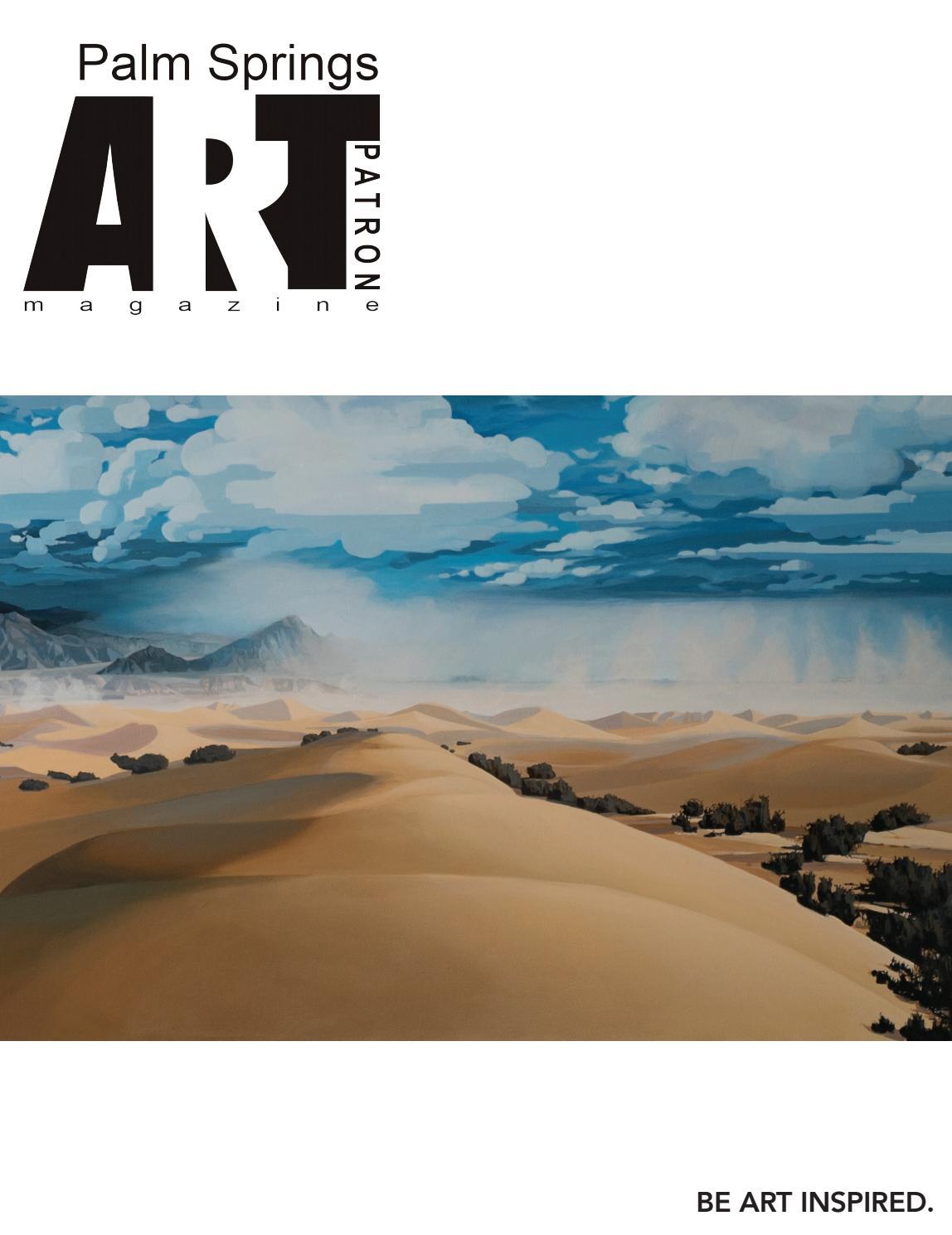 Palm Springs Art Patron Magazine September October 2018 By Art Highlights Magazine Issuu