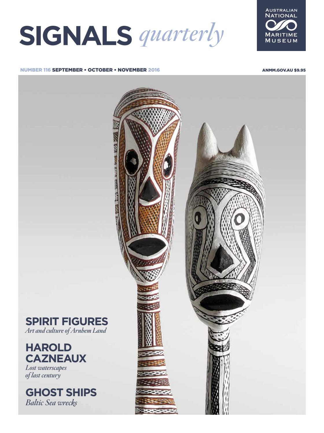 Signals, issue 116 by Australian National Maritime Museum - issuu