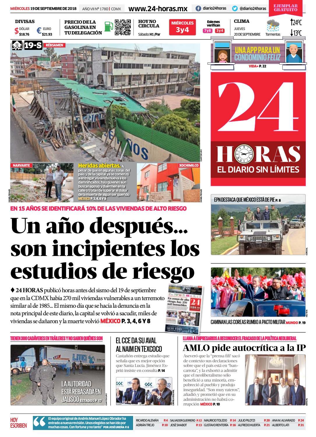 98653ad71 19 | Septiembre | 2018 by Información Integral 24/7 SAPI de C.V. - issuu