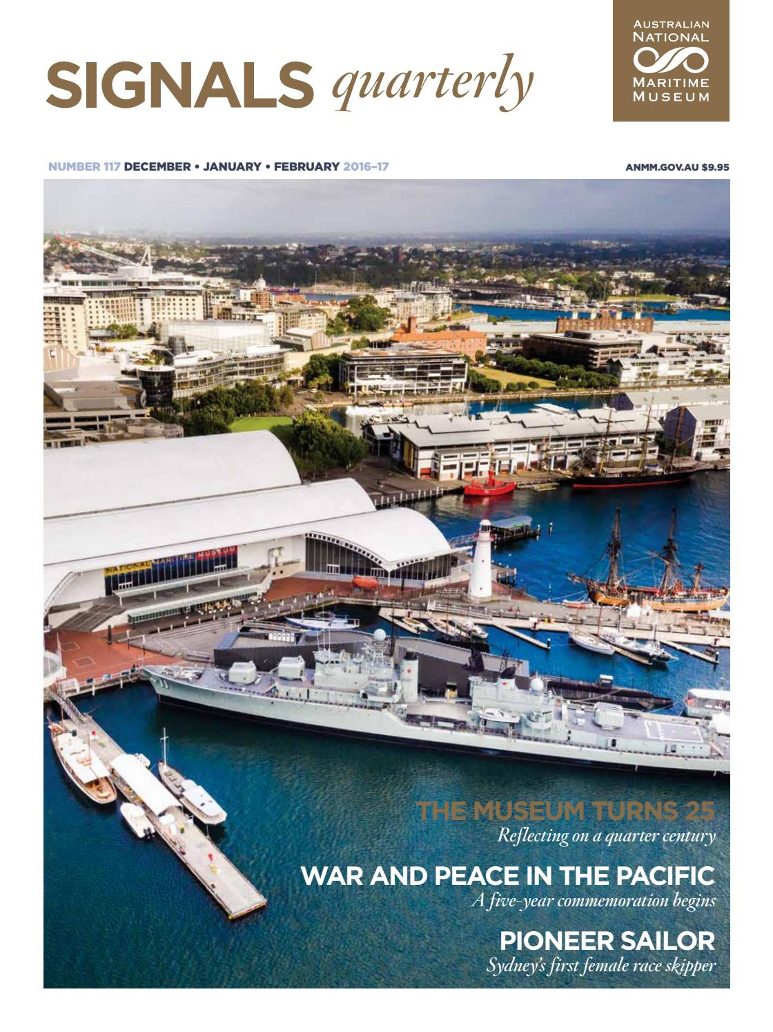 Signals Issue 117 By Australian National Maritime Museum Issuu
