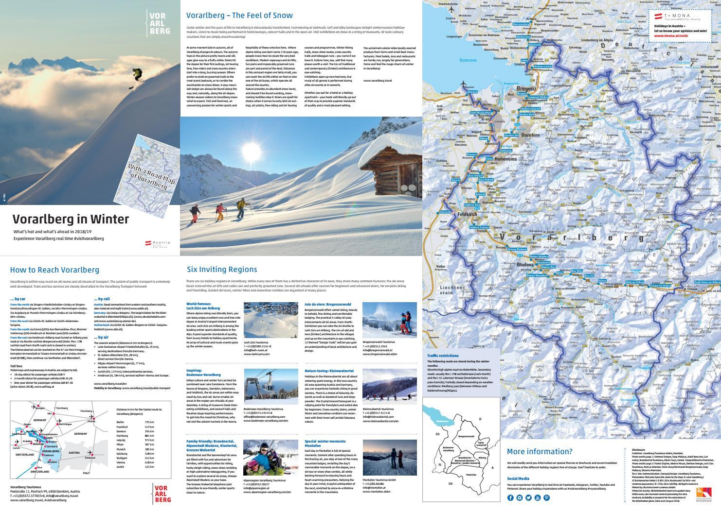 Winter information Vorarlberg 2018 19 en by Vorarlberg