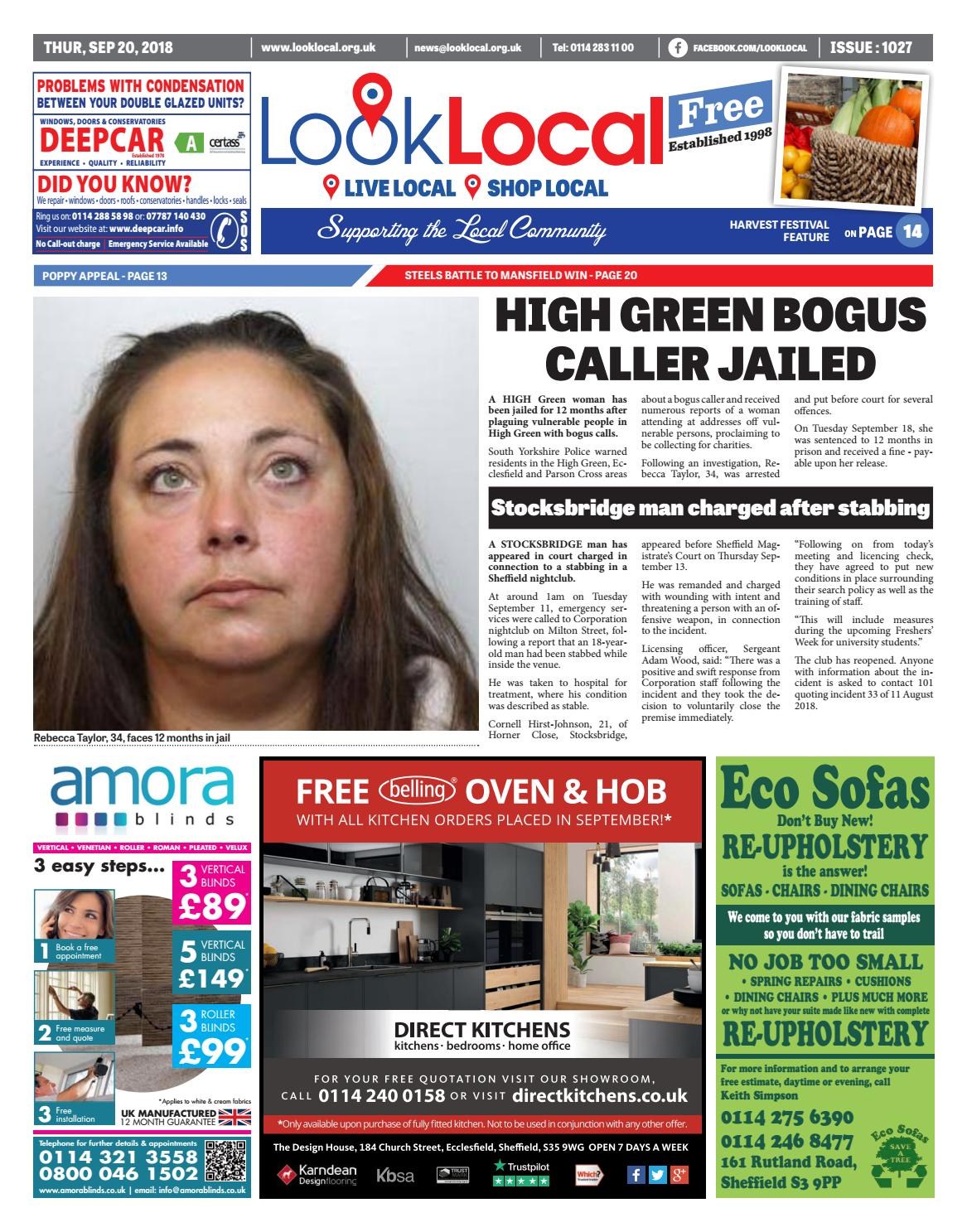 58e24d974a Issue 1027 Thursday 20 September 2018 by Look Local Newspaper - issuu