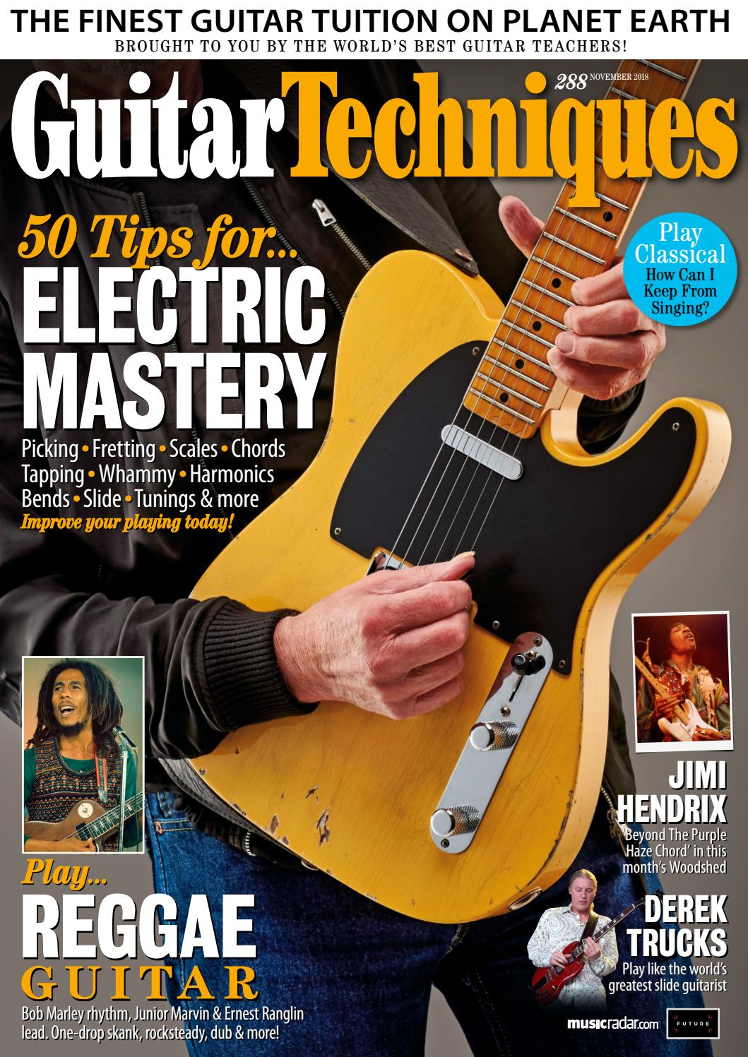 Guitar Techniques 288 Sampler By Future Plc Issuu