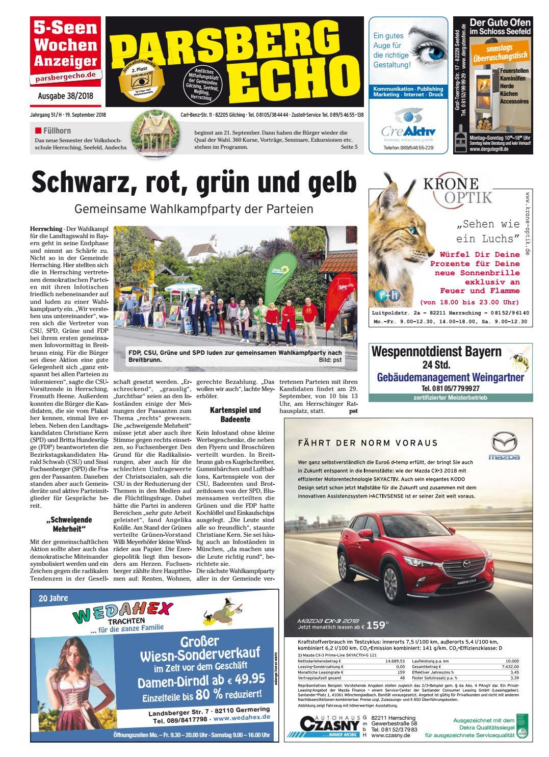 KW 38-2018 by Wochenanzeiger Medien GmbH - issuu