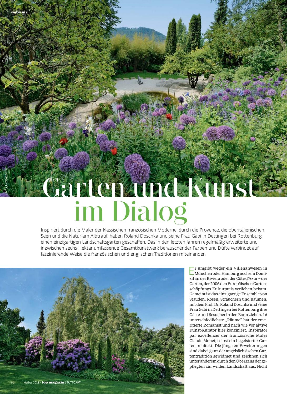Top Magazin Stuttgart Herbst 2018 By Top Magazin Issuu