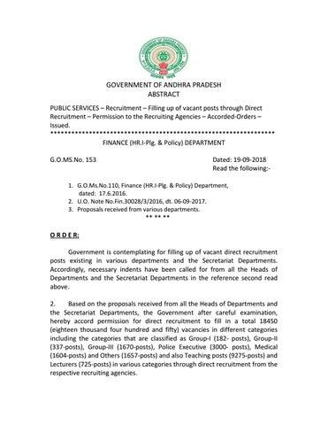AP Govt Job Notification Details 2018 by Kollu Ravindra - issuu