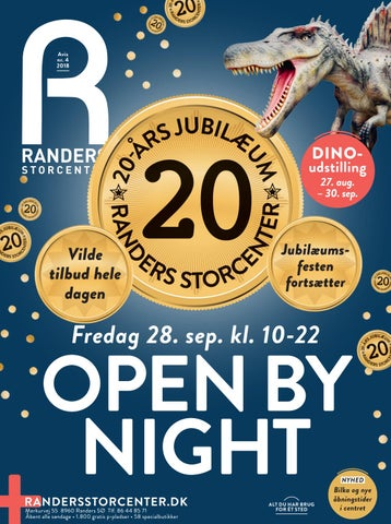 Randers Storcenter Magasin Open By Night 28 Sep 2018 By Randers