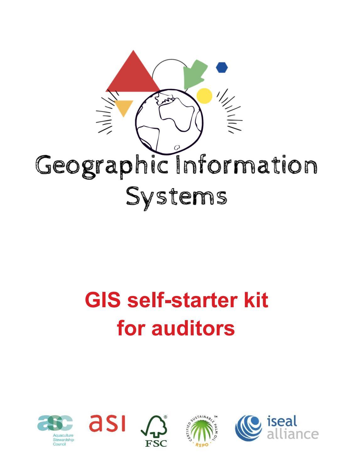 GIS Self-Starter Kit for Auditors by ASI - Assurance