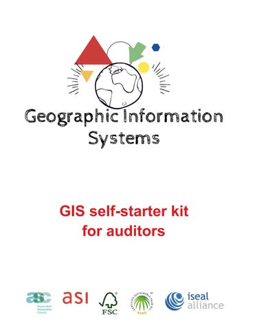 GIS Self-Starter Kit for Auditors by ASI - Assurance Services