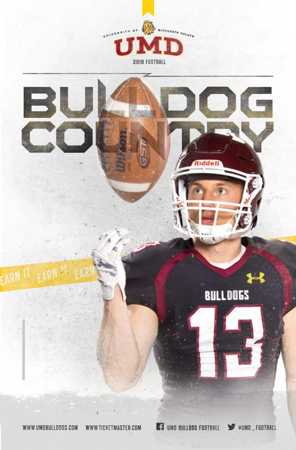 03a25d6e 2018 UMD Football Media Guide by UMD Bulldogs - issuu